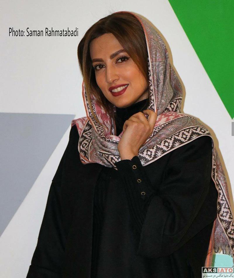 بازیگران جشنواره فیلم فجر  سمیرا حسینی در هفتمین روز جشنواره فیلم فجر ۳۶ (۴ عکس)