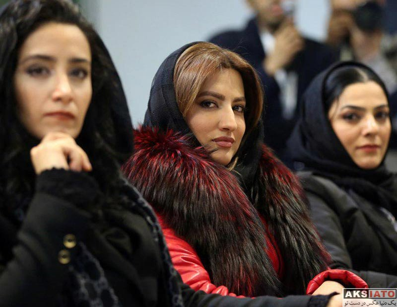 بازیگران جشنواره فیلم فجر  سمیرا حسینی در روز چهارم جشنواره فیلم فجر ۳۶ (۳ عکس)