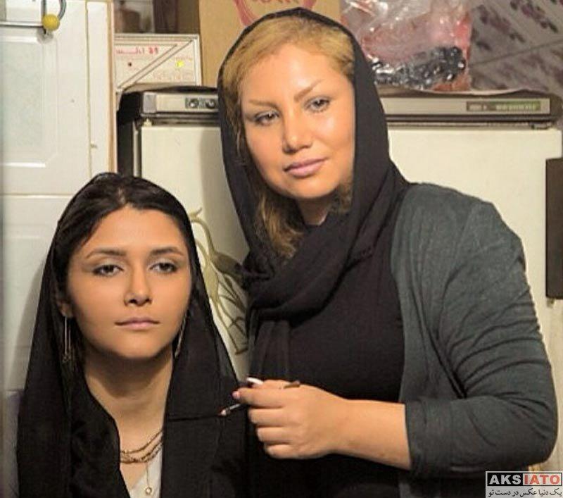 بازیگران بازیگران زن ایرانی عکس های ساناز نیکنام بازیگر نقش سپیده در سریال رنج پنهان (6 عکس)