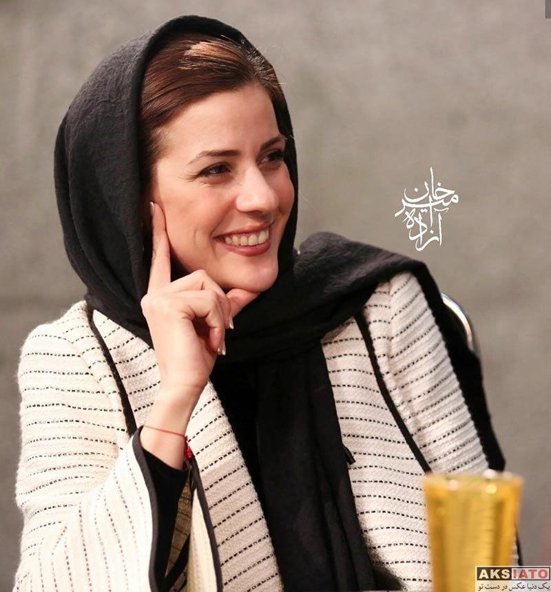 بازیگران بازیگران زن ایرانی  سارا بهرامی در برنامه اینترنتی سی و پنج (4 عکس)