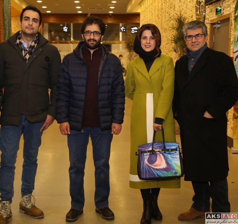 بازیگران جشنواره فیلم فجر  سارا بهرامی در اکران فیلم دارکوب در جشنواره فیلم فجر ۹۶ (3 عکس)