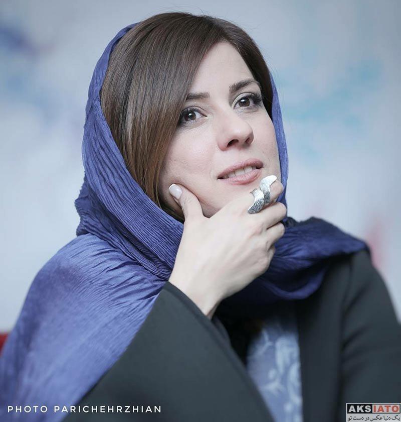 بازیگران جشنواره فیلم فجر  سارا بهرامی در روز هشتم جشنواره فیلم فجر ۳۶ (۱۰ عکس)