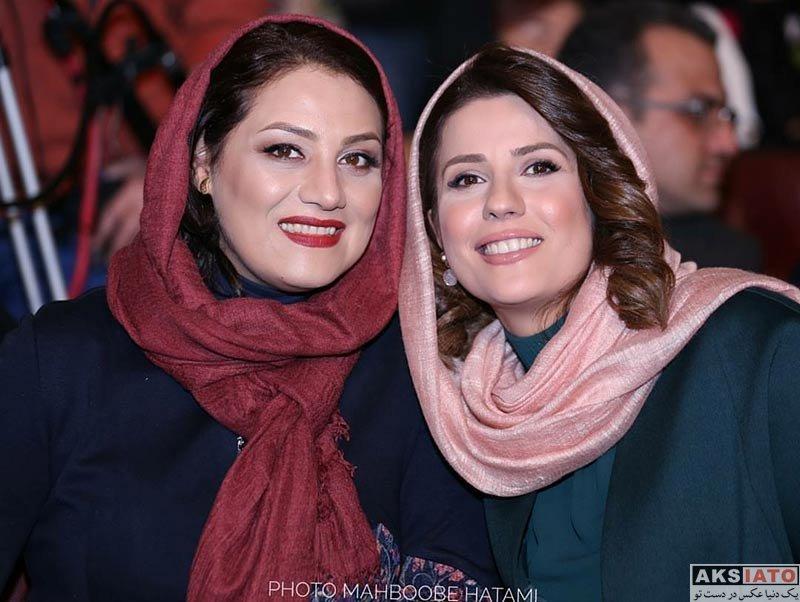 بازیگران جشنواره فیلم فجر  سارا بهرامی در اختتامیه سی و ششمین جشنواره فیلم فجر (۱۲ عکس)