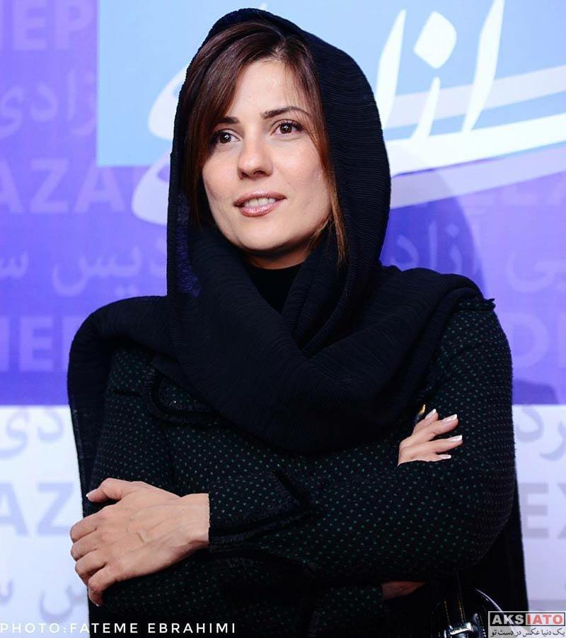 بازیگران جشنواره فیلم فجر  سارا بهرامی در روز چهارم جشنواره فیلم فجر ۳۶ (6 عکس)