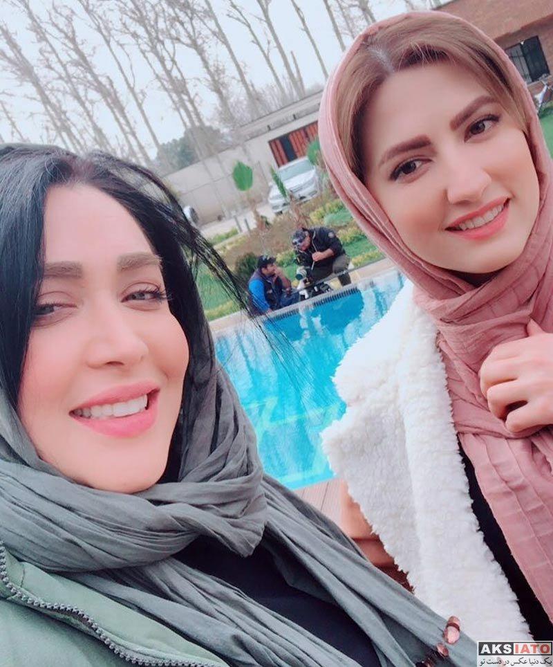بازیگران بازیگران زن ایرانی  عکس های جدید سارا منجزی پور در بهمن ماه ۹۶ (۶ تصویر)