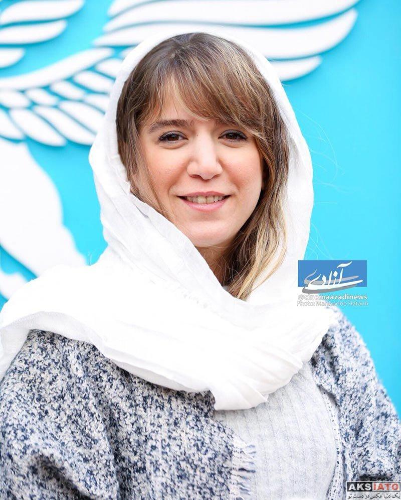 بازیگران جشنواره فیلم فجر  ستاره پسیانی در روز چهارم جشنواره فیلم فجر 36 (3 عکس)
