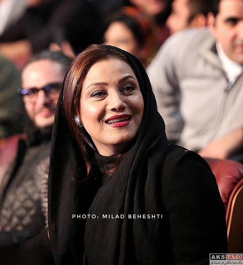 جشنواره فیلم فجر  شبنم مقدمی در افتتاحیه سی و ششمین جشنواره فیلم فجر (3 عکس)