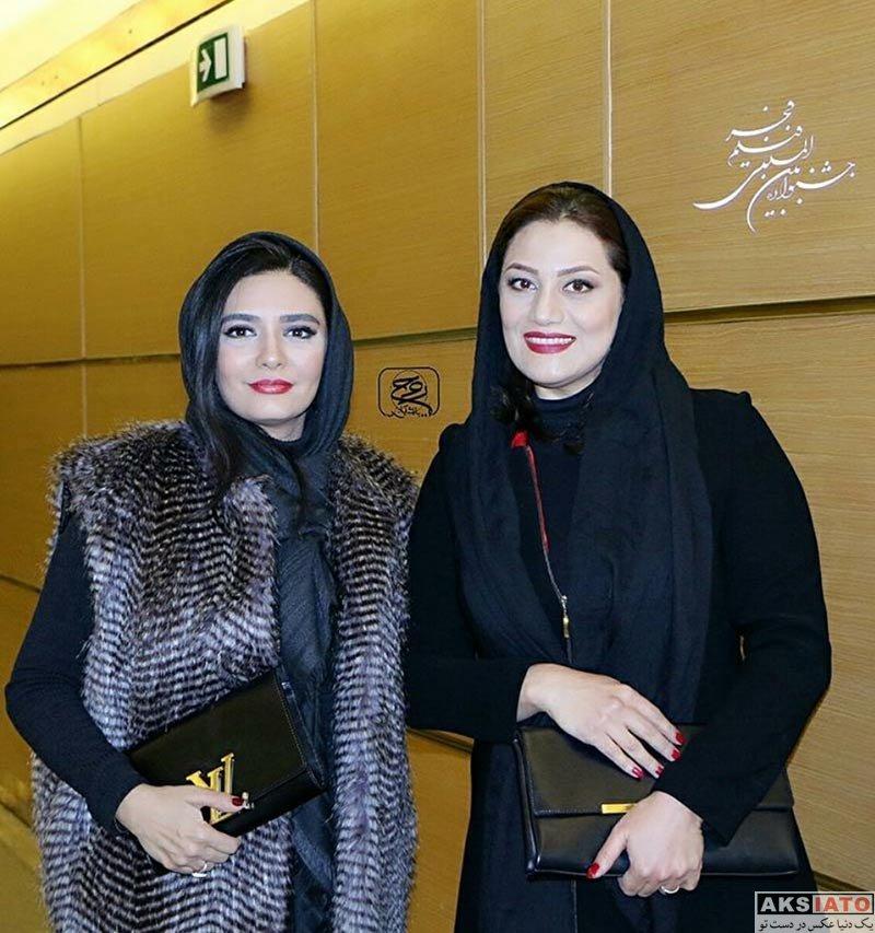 جشنواره فیلم فجر  شبنم مقدمی در افتتاحیه سی و ششمین جشنواره فیلم فجر (4 عکس)