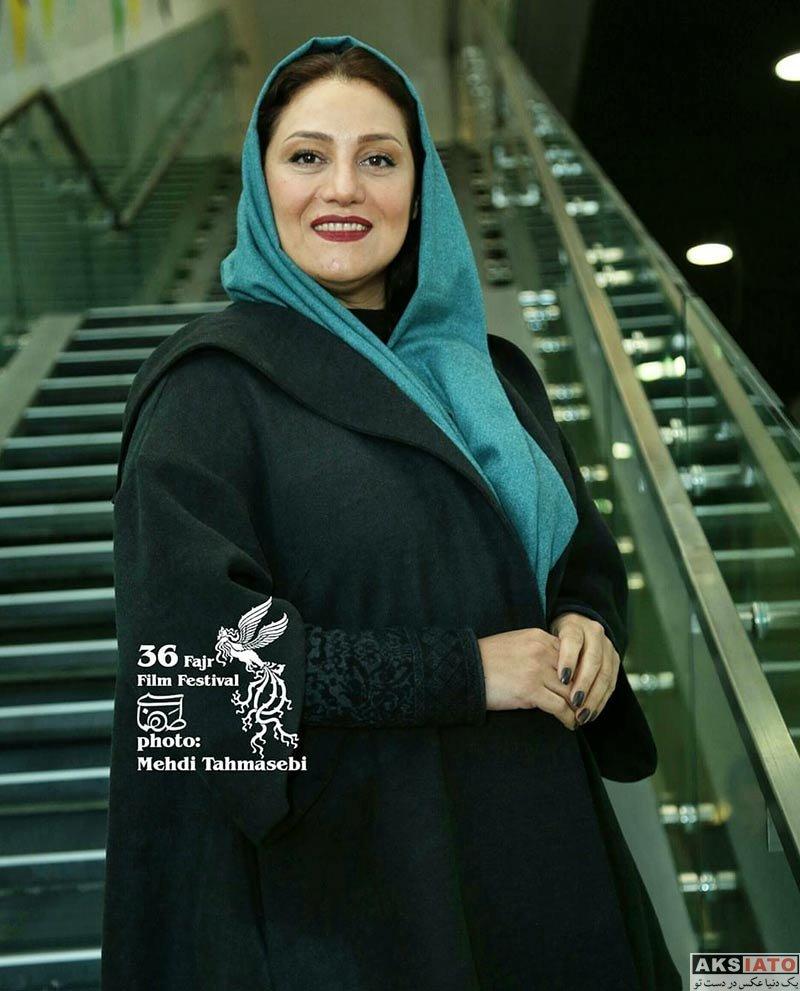 بازیگران جشنواره فیلم فجر  شبنم مقدمی در هفتمین روز جشنواره فیلم فجر ۳۶ (4 عکس)