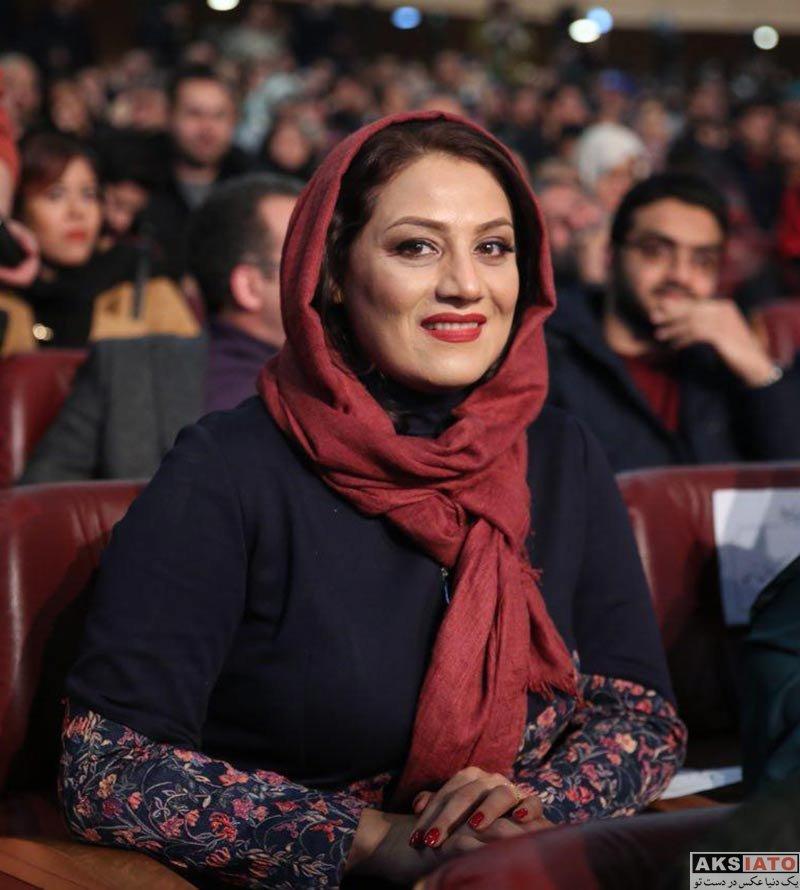 بازیگران جشنواره فیلم فجر  شبنم مقدمی در اختتامیه سی و ششمین جشنواره فیلم فجر (6 عکس)