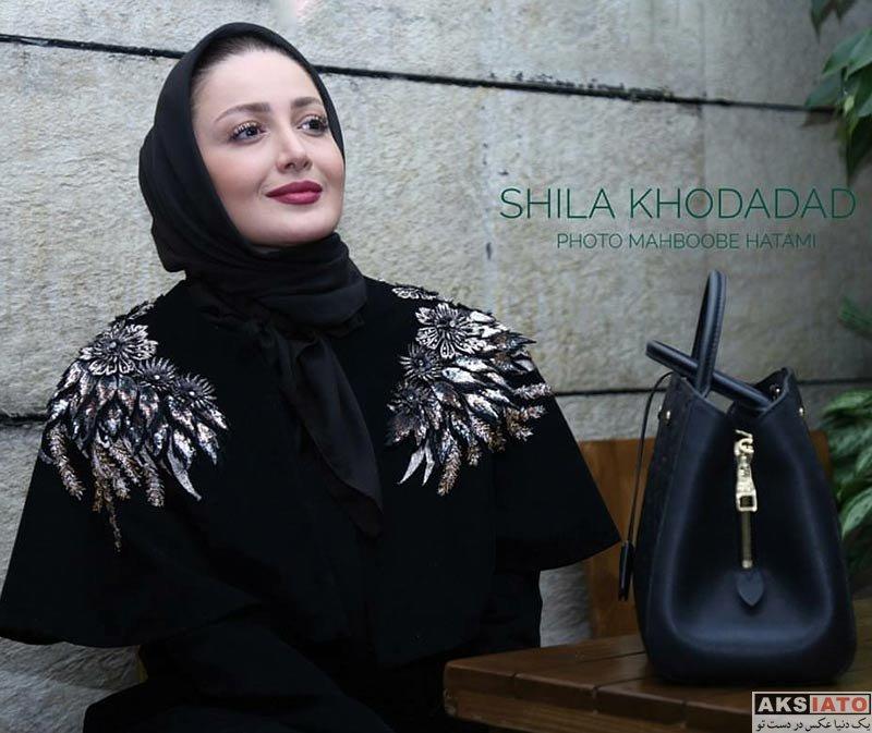 بازیگران جشنواره فیلم فجر  شیلا خداداد در سومین جشنواره فیلم فجر 36 (6 عکس)