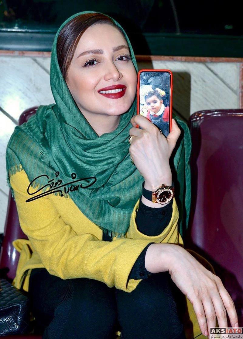 بازیگران جشنواره فیلم فجر  شیلا خداداد در پنجمین روز 36مین جشنواره فیلم فجر (3 عکس)