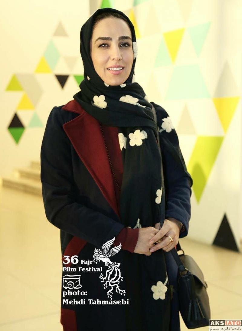 بازیگران جشنواره فیلم فجر  سوگل طهماسبی در هفتمین روز جشنواره فیلم فجر ۳۶ (2 عکس)
