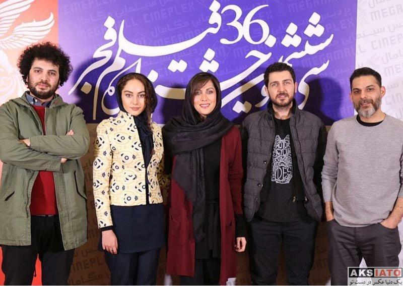 بازیگران جشنواره فیلم فجر  ترلان پروانه در اکران فیلم جاده قدیم در جشنواره فجر (4 عکس)