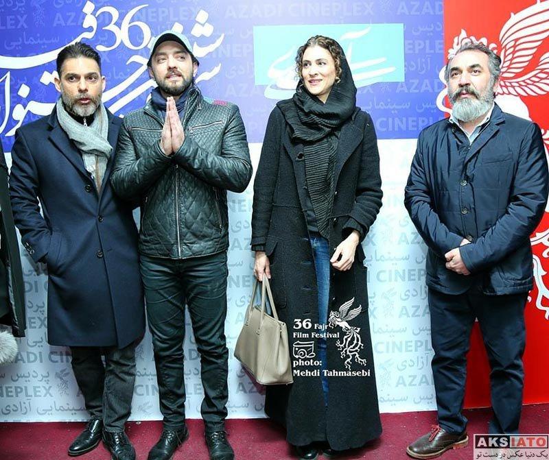 بازیگران جشنواره فیلم فجر  ویشکا آسایش در روز ششم جشنواره فیلم فجر 36 (6 عکس)