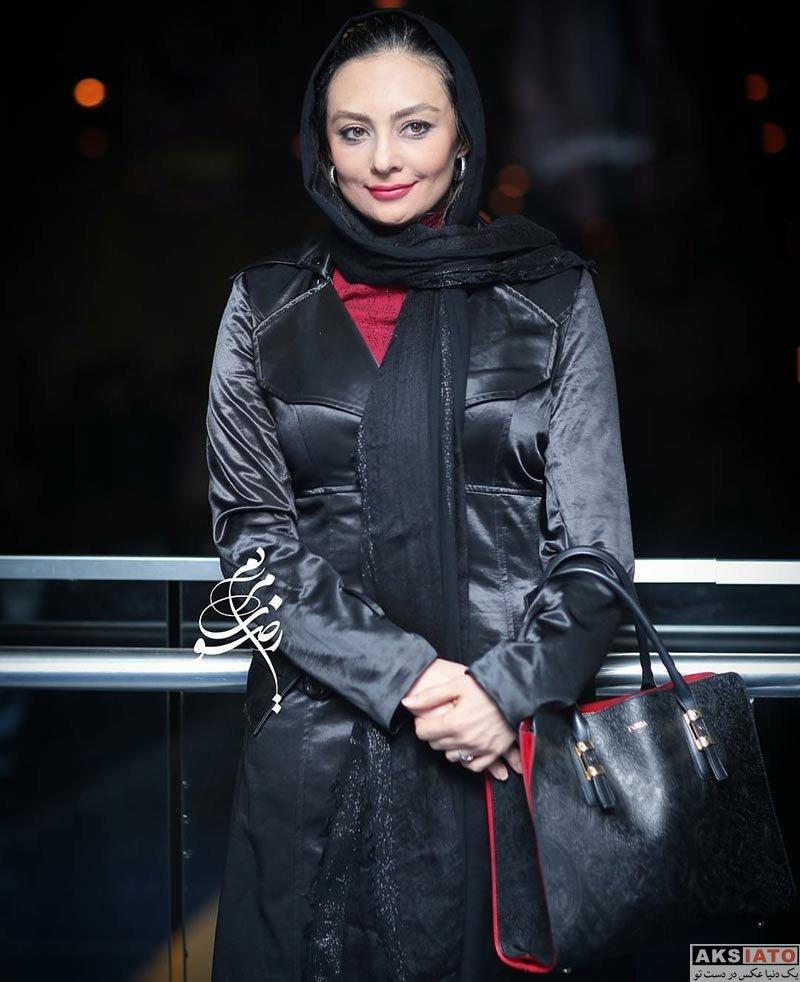 بازیگران جشنواره فیلم فجر  یکتا ناصر در سی و ششمین جشنواره فیلم فجر (2 عکس)