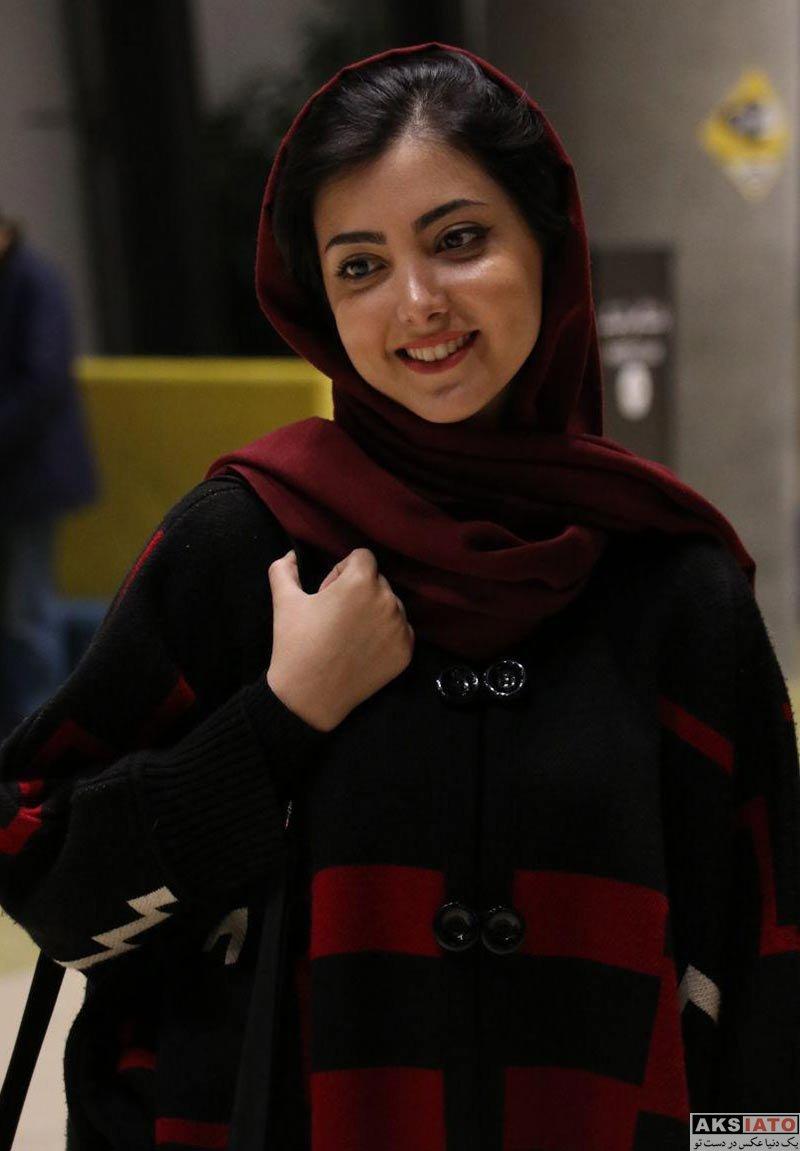 بازیگران جشنواره فیلم فجر  زیبا کرمعلی در روز نهم جشنواره فیلم فجر ۳۶ (3 عکس)