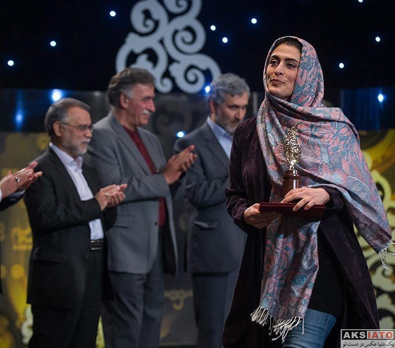 بازیگران بازیگران زن ایرانی  بهناز جعفری در چهارمین جشنواره جام جم (4 عکس)