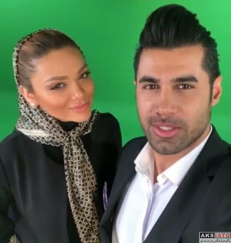 ورزشکاران ورزشکاران مرد  محسن فروزان و همسرش در برنامه مدال شو (3 عکس)