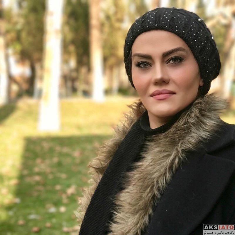 بازیگران بازیگران زن ایرانی  عکس های آرزو نبوت در اسفند ماه ۹۶ (6 تصویر)