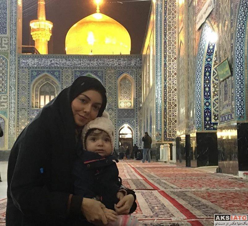 بازیگران مجریان  عکس های آزاده نامداری در اسفند ماه ۹۶ (4 تصویر)