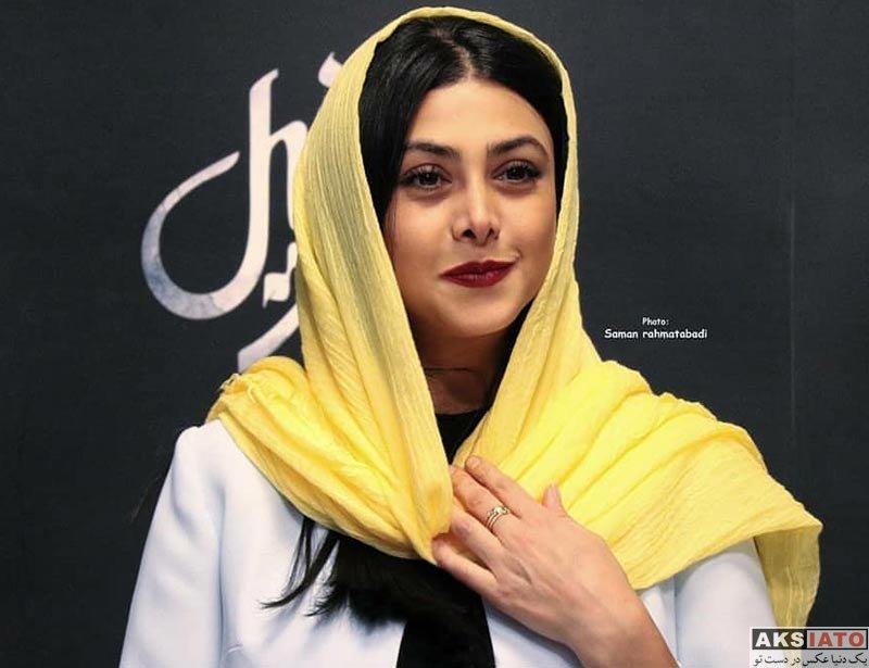 بازیگران بازیگران زن ایرانی  آزاده صمدی در اکران مردمی فیلم اسرافیل (6 عکس)