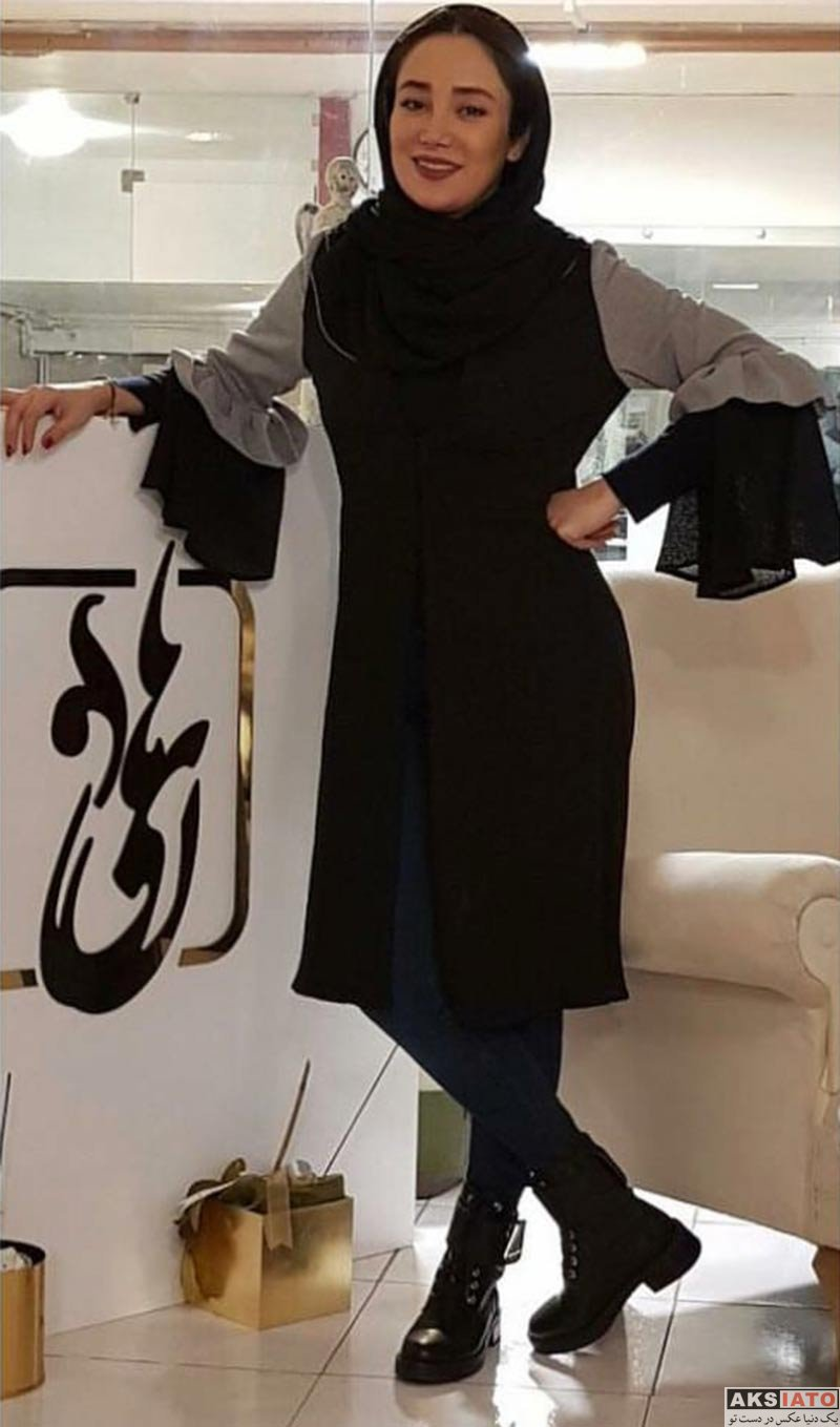 بازیگران بازیگران زن ایرانی  عکس های بهاره افشاری در اسفند ماه ۹۶ (8 تصویر)