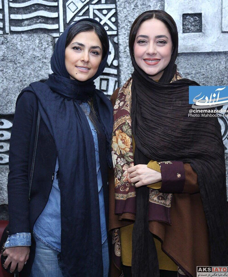 بازیگران بازیگران زن ایرانی  بهاره کیان افشار در اکران فیلم اسرافیل در پردیس آزادی (6 عکس)