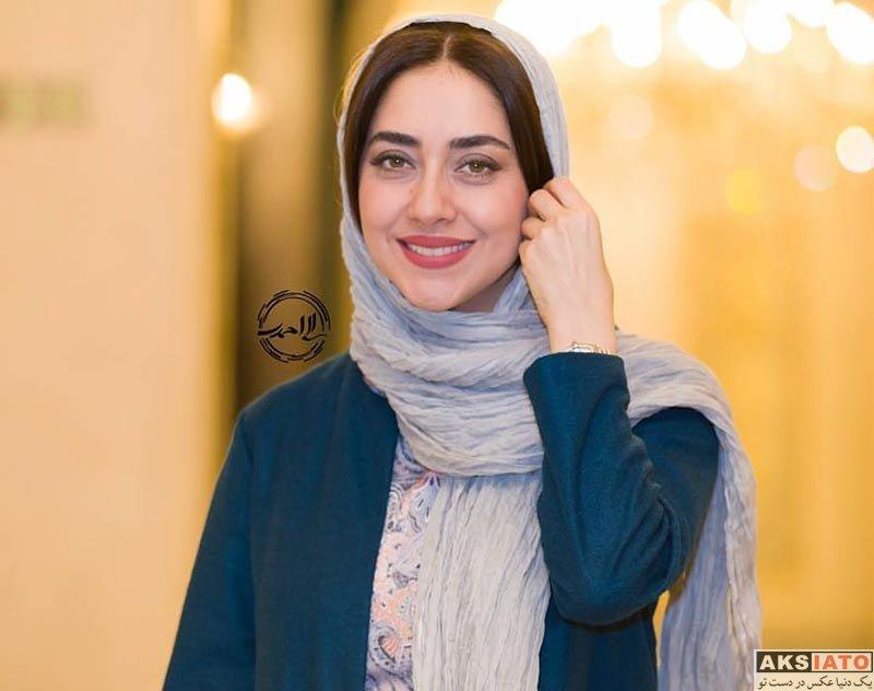 بازیگران بازیگران زن ایرانی  بهاره کیان افشار در مراسم رونمایی از تنپوشهای پانتی (2 عکس)