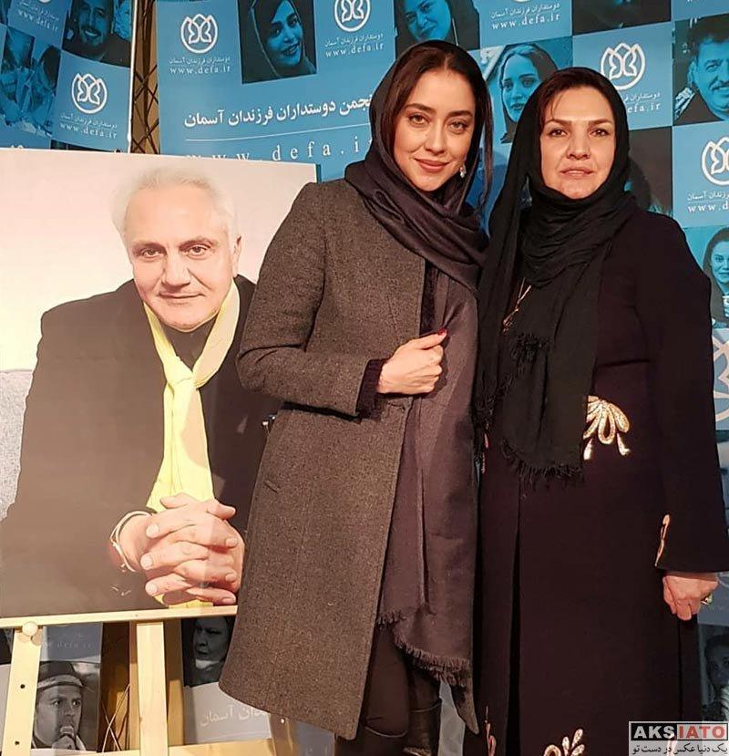 بازیگران بازیگران زن ایرانی  بهاره کیان افشار جشن دوستاداران بچه های آسمان (2 عکس)
