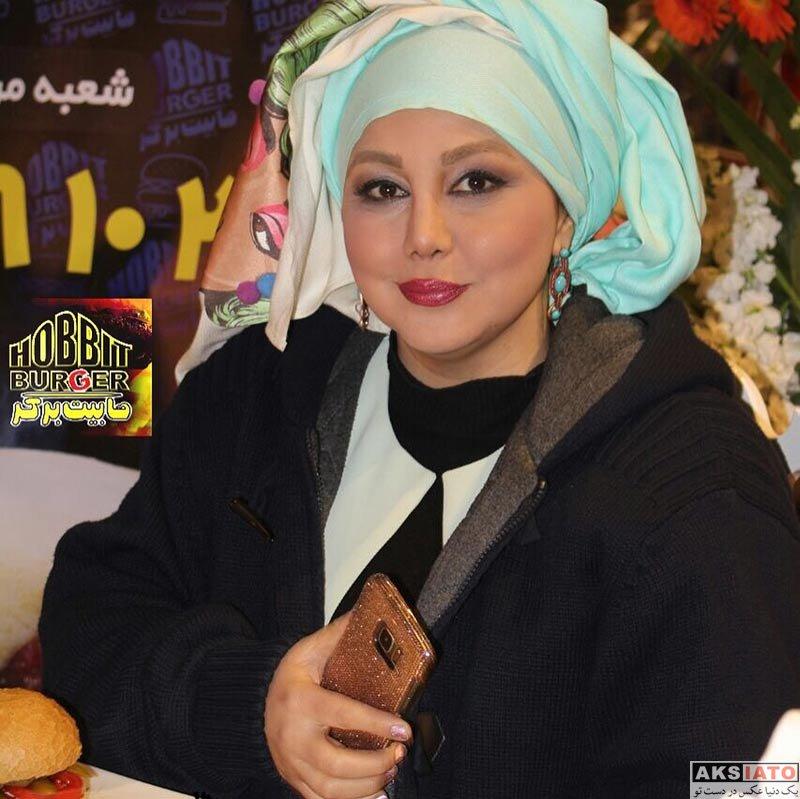 بازیگران بازیگران زن ایرانی  بهنوش بختیاری در افتتاحیه هابیت برگر (4 عکس)