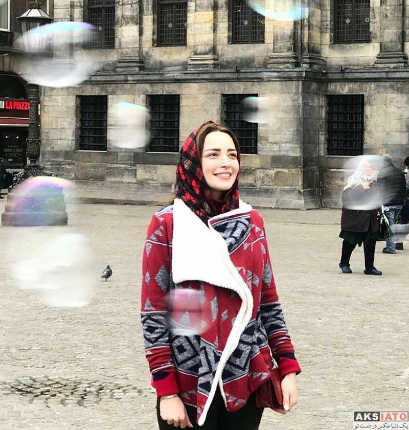 بازیگران بازیگران زن ایرانی  عکس های بهنوش طباطبایی در اسفند ماه ۹۶ (6 تصویر)