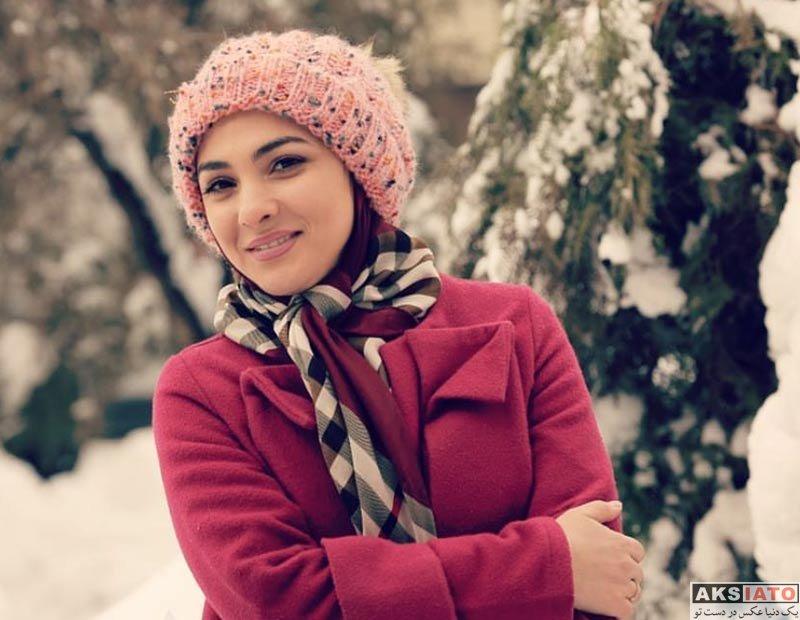 بازیگران مجریان الهه پرسون مجری برنامه چهل تیکه شبکه نسیم (6 عکس)