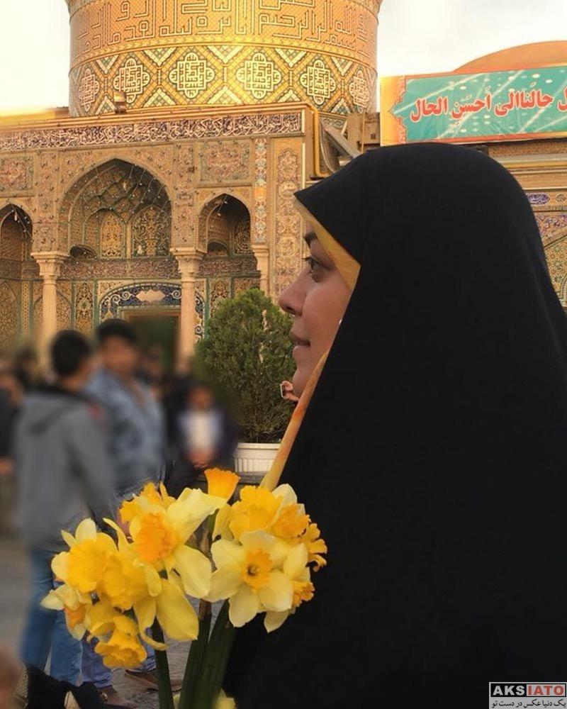 بازیگران بازیگران زن ایرانی  4 عکس جدید از الهام چرخنده