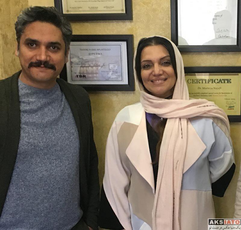 بازیگران بازیگران زن ایرانی  الهام پاوه نژاد در پایتخت زیبایی ایران (۳ عکس)