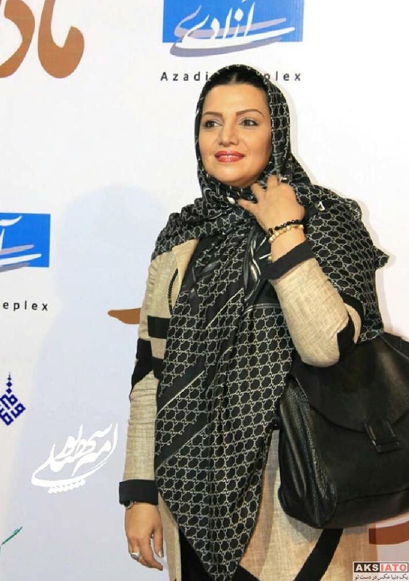 بازیگران بازیگران زن ایرانی  الهام پاوه نژاد در اکران مردمی فیلم مادری (5 عکس)