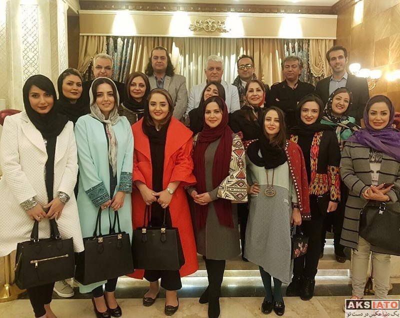 بازیگران بازیگران زن ایرانی  گلاره عباسی در افتتاحیه رستوران کافه طاقچه (4 عکس)