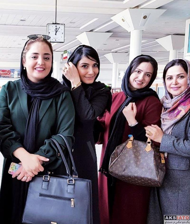 بازیگران بازیگران زن ایرانی  عکس های گلاره عباسی در اسفند ماه 96 (10 تصویر)