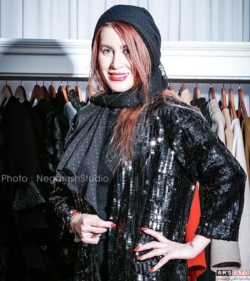 بازیگران بازیگران زن ایرانی  گلشید بحرایی در مزون لباس تارا (4 عکس)