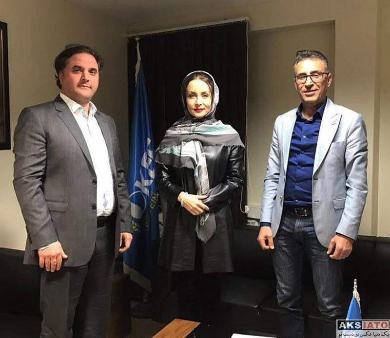 بازیگران بازیگران زن ایرانی  حدیث فولادوند در افتتاحیه شعب جدید اکیا شاپ (4 عکس)