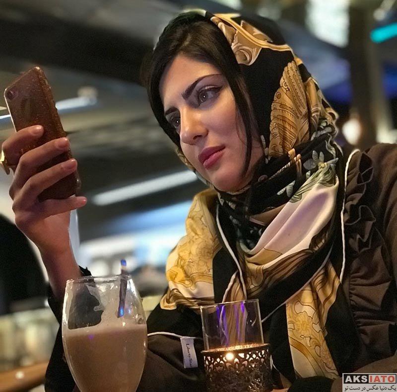 بازیگران بازیگران زن ایرانی  عکس های هلیا امامی در اسفند ماه ۹۶ (۸ تصویر)