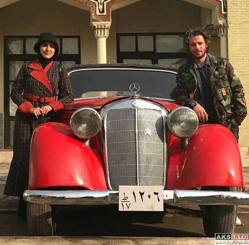 بازیگران بازیگران زن ایرانی  هلیا امامی و اشپیتیم آرفی در شهرک سینمایی غزالی (3 عکس)