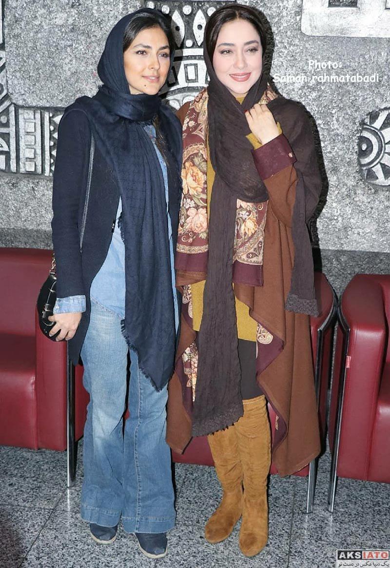 بازیگران بازیگران زن ایرانی  هدی زین العابدین در اکران فیلم اسرافیل در پردیس آزادی (8 عکس)