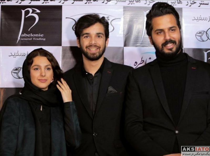 بازیگران بازیگران زن ایرانی  جوانه دلشاد در اکران خصوصی فیلم رنگ های خاطره (2 عکس)