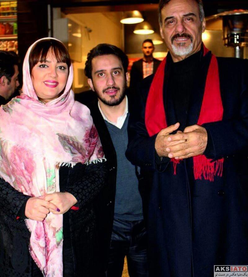 بازیگران بازیگران زن ایرانی  لیلا برخورداری در افتتاحیه هابیت برگر (3 عکس)