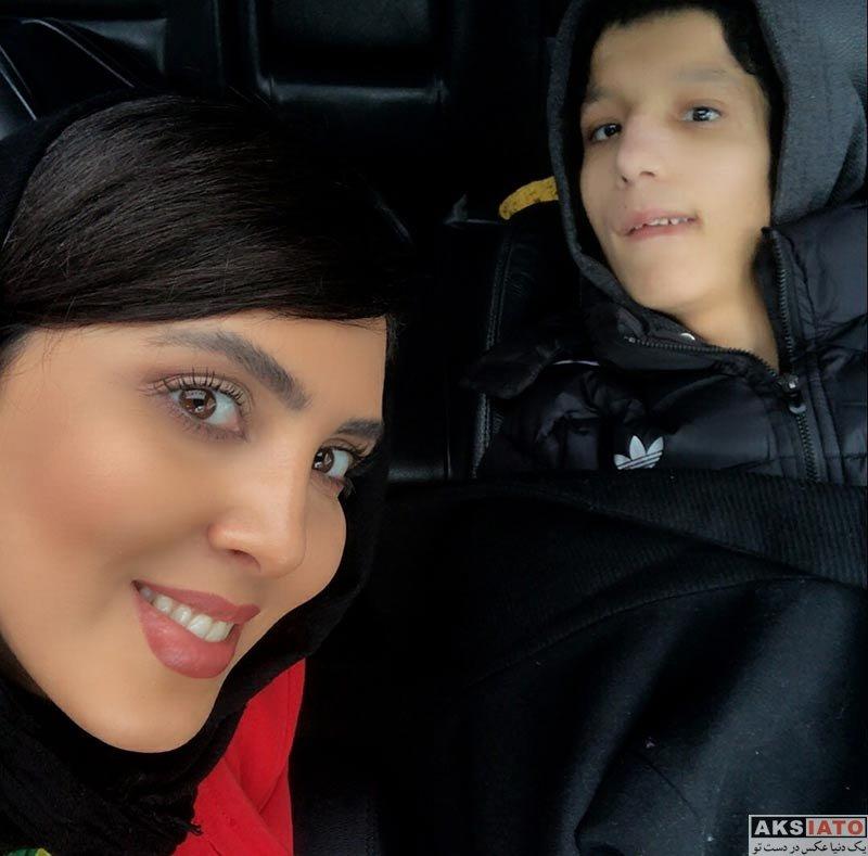 بازیگران بازیگران زن ایرانی  لیلا بلوکات به همراه دوست معلولش در بیمارستان (3 عکس)
