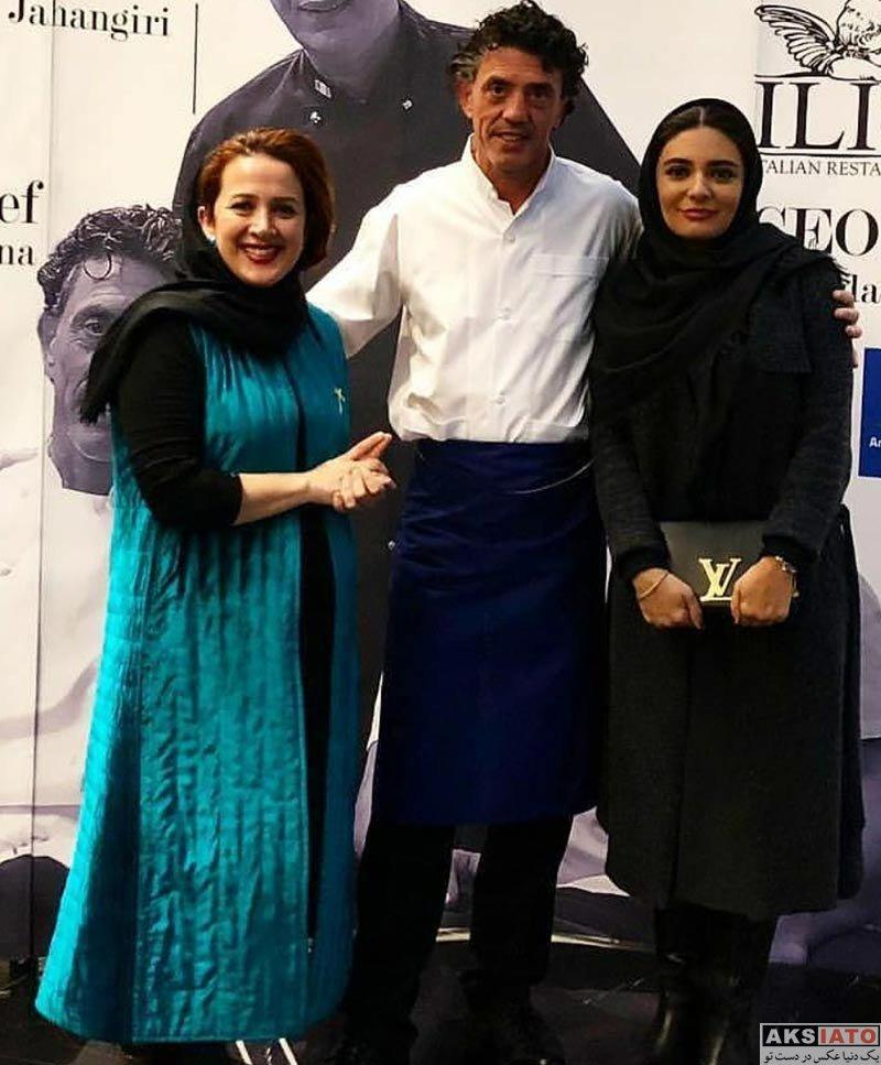 بازیگران بازیگران زن ایرانی  عکس های لیندا کیانی در اسفند ماه ۹۶ (۸ تصویر)