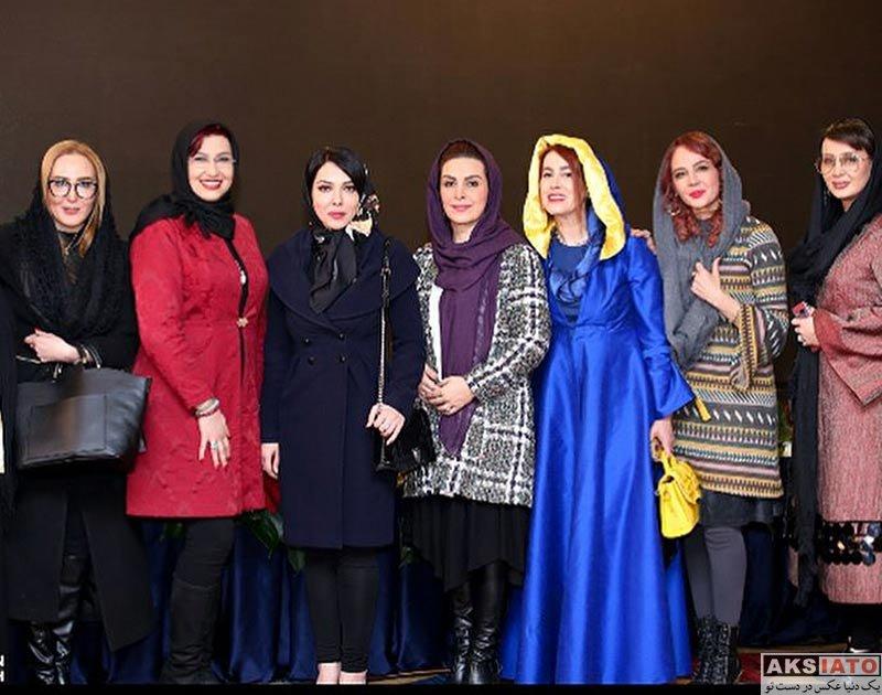 بازیگران بازیگران زن ایرانی  ماه چهره خلیلی و هنرمندان در جشن گروه نوژیان (4 عکس)