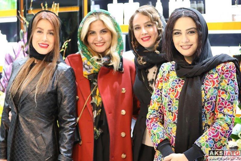بازیگران بازیگران زن ایرانی  مارال فرجاد در افتتاحیه فروشگاه شرکت نوآوران مهباد امروز (2 عکس)