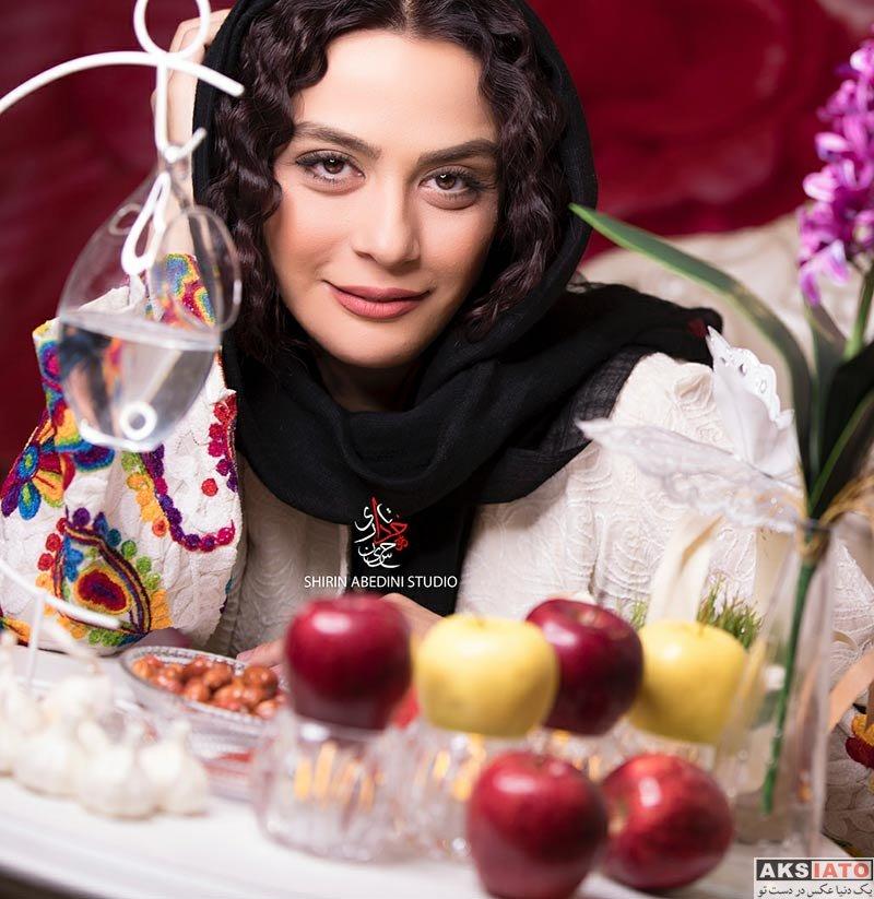 بازیگران بازیگران زن ایرانی  عکس های مارال فرجاد ویژه عید نوروز 97